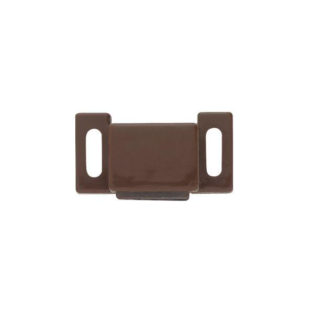 1 in. Brown Magnetic Door Catch (10-Pack)
