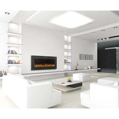 Allure 50 in. Linear Wall Mount Electric Fireplace