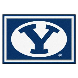 Brigham Young University 5 ft. x 8 ft. Area Rug