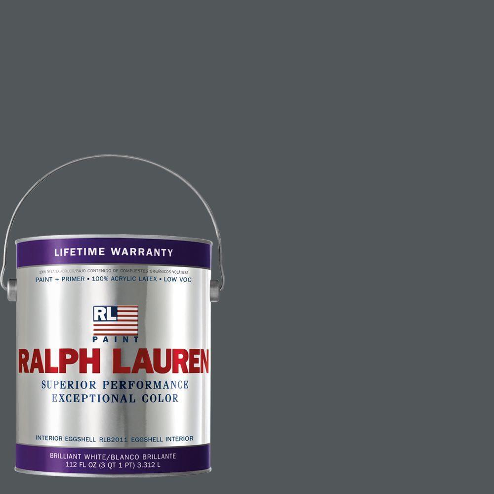Ralph Lauren 1-gal. Nobel Grey Eggshell Interior Paint