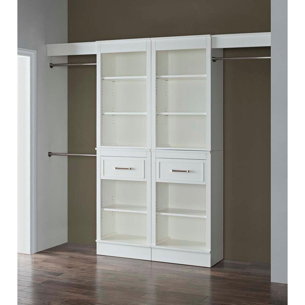 closetmaid selectives 10 ft 14 ft mudroom system in. Black Bedroom Furniture Sets. Home Design Ideas