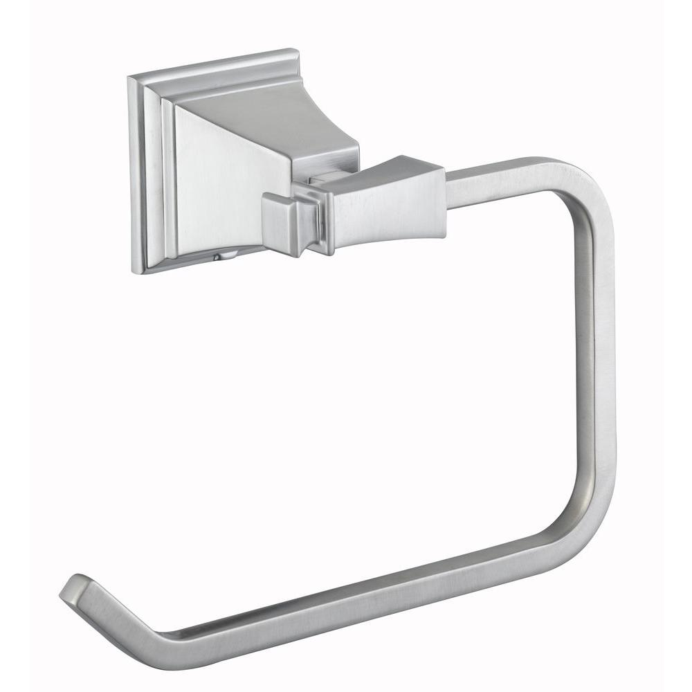 Pegasus Exhibit Towel Ring in Brushed Nickel-714A-0504 - The Home Depot