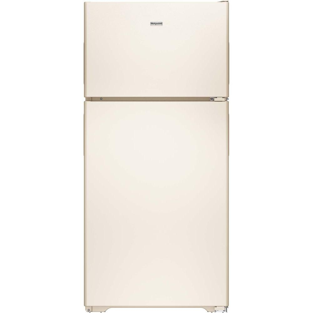 hotpoint 14 6 cu ft top freezer refrigerator in bisque hps15bthrcc rh homedepot com Hotpoint Refrigerator Repair Manual hotpoint refrigerator owners manual