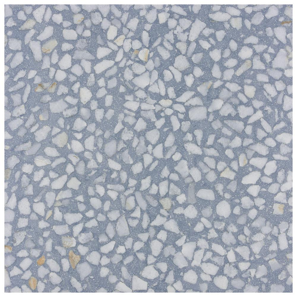 Merola Tile Farnese Amalfi Azul 11 1 2 In X 11 1 2 In Porcelain Floor And Wall Tile 10 55 Sq Ft Case Fvvfama The Home Depot