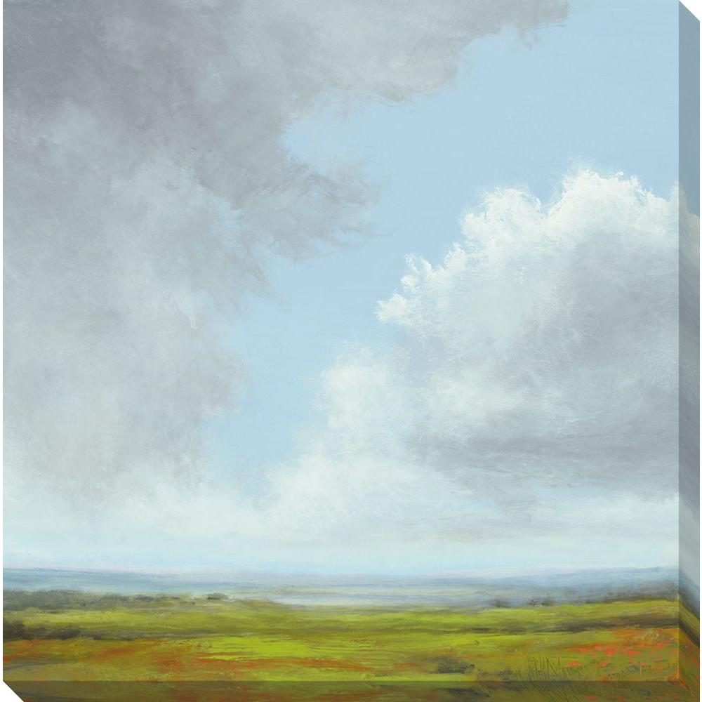 NEP Art 40 in. x 40 in. Storm Series III Oversized Canvas Gallery Wrap