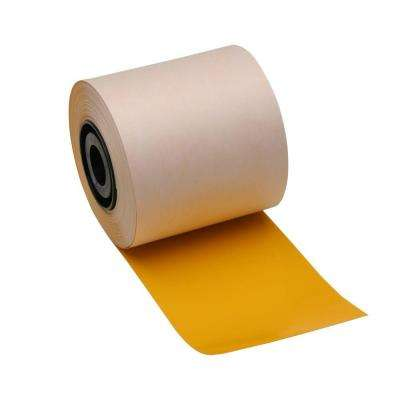 Industrial Printer General Purpose 4 in. x 110 ft. Vinyl Yellow Tape