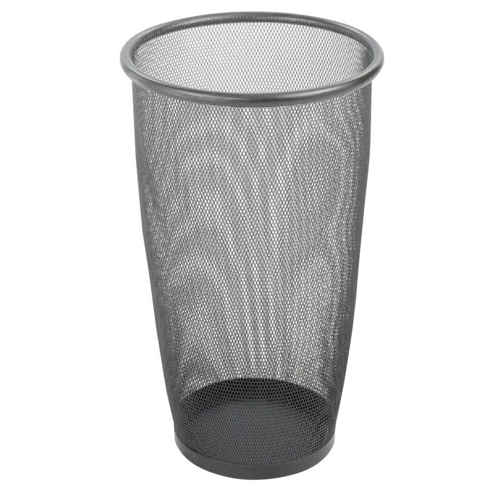 9 Gal. Round Mesh Wastebasket