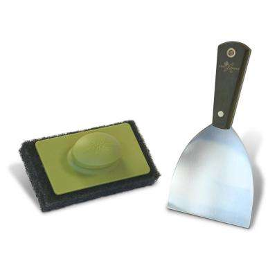 Stainless Steel Griddle Accessory Kit (2-Piece)
