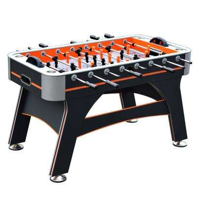 Trailblazer 56 in. Foosball Table with Electronic Scoring in Orange and Black