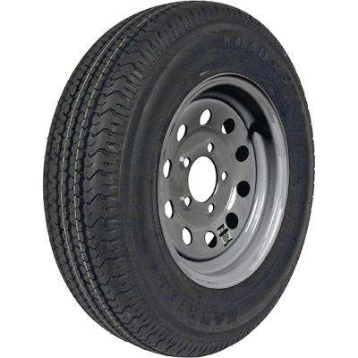 ST175/80R-13 KR03 Radial 1480 lb. Load Capacity Galvanized 13 in. Bias Tire and Wheel Assembly