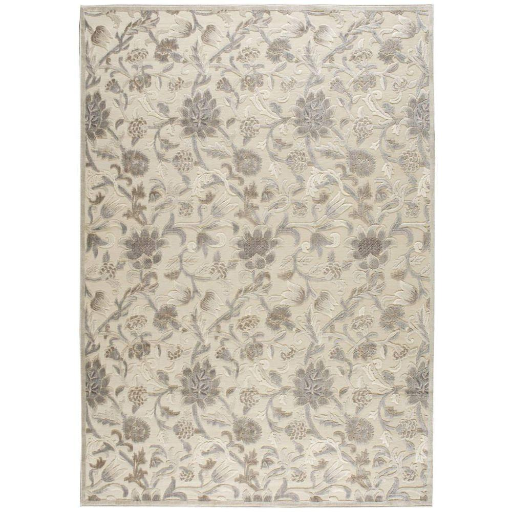 Graphic Illusions Ivory 7 ft. 9 in. x 10 ft. 10