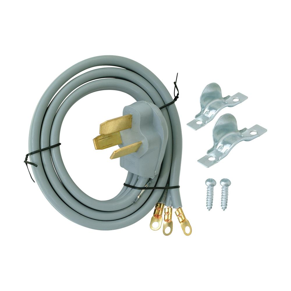EZ-FLO 4 ft. 6/3 3-Wire Electric Range Cord-61241 - The Home Depot