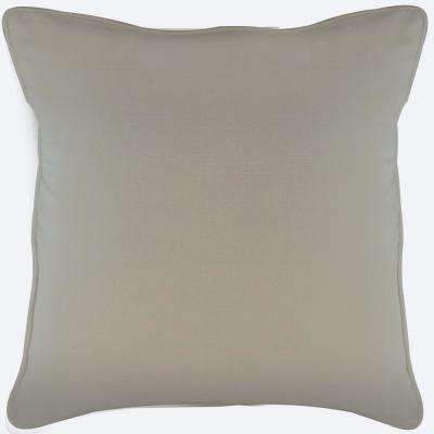 American Colors reversible Natural Taupe Pillow