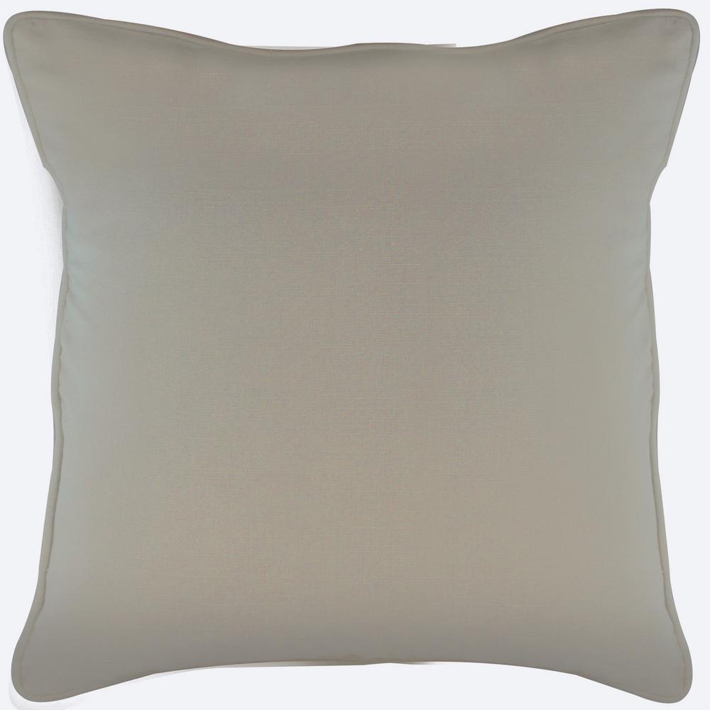 American Colors reversible Natural Taupe Pillow