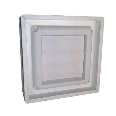 7.75 in. x 7.75 in x 3.125 in. Dryer Vent for Glass Block Window