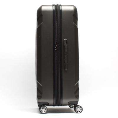 Load Rider 29 in. Cobalt Aluminum Telescopic Pull Handle, Upright ABS Plastic Hard Case Spinner Rolling Luggage Suitcase