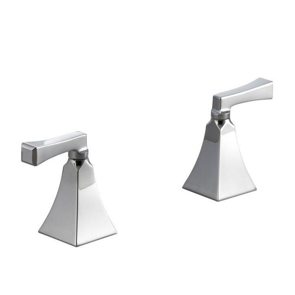 Home Design Et Deco kohler memoirs deck-mount high-flow bath valve trim with stately design and  deco lever handles, polished chrome