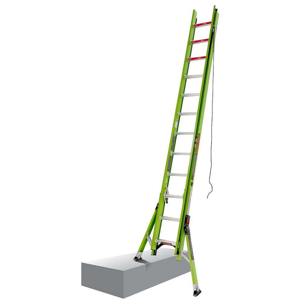HyperLite W/Sumo 20 ft. Type IA Fiberglass Extension Ladder