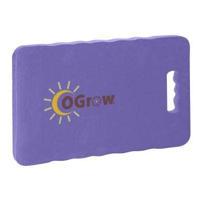 1 in. Thick, 17 in. x 11 in. Purple Garden Kneeling Pad
