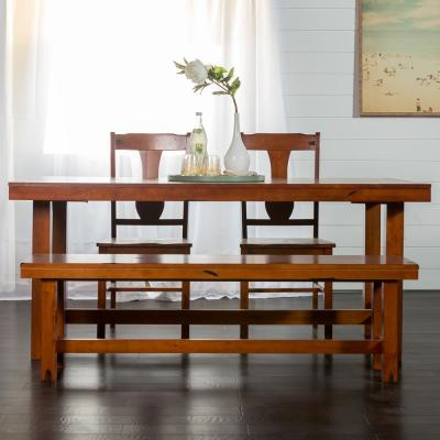 Huntsman 6 Piece Dark Oak Dining Set