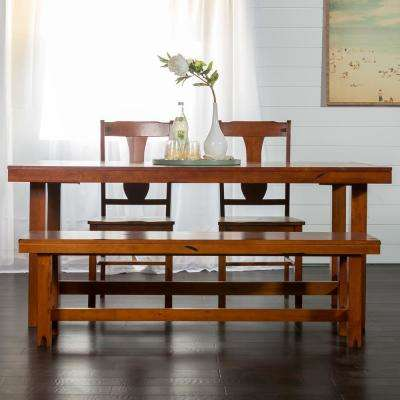 Huntsman 6-Piece Dark Oak Dining Set