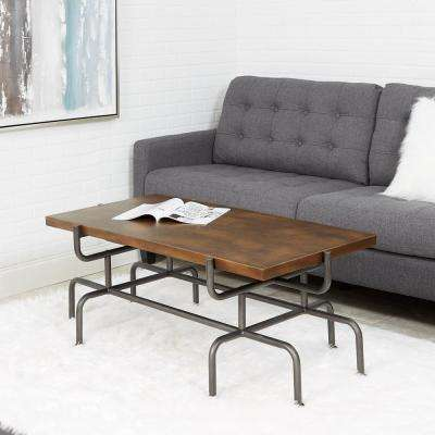 Griffin Pine Rectangular Cocktail Table