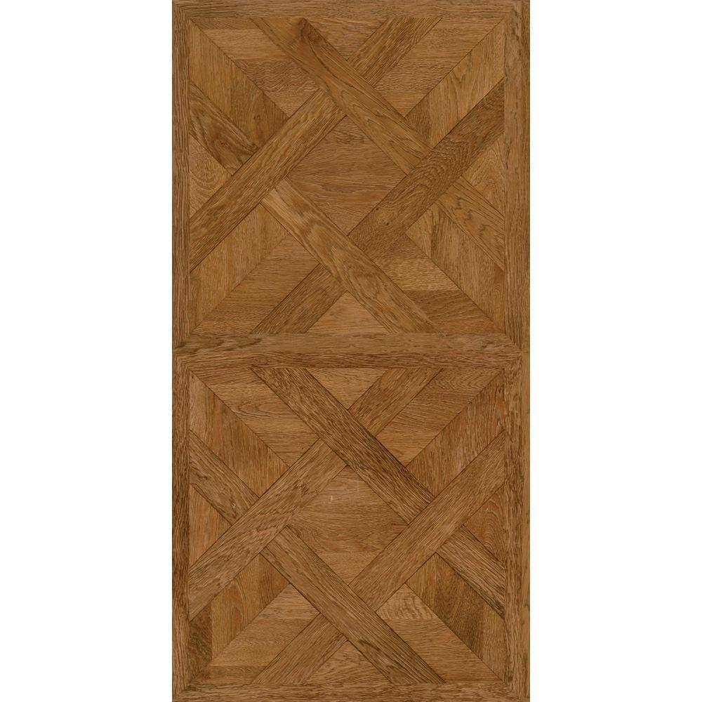 TrafficMASTER Allure 16 in. x 32 in. Chateau Parquet Light Luxury Vinyl Tile Flooring (21.3 sq. ft. / case)