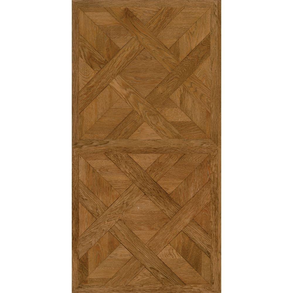 Allure 16 in. x 32 in. Chateau Parquet Light Luxury Vinyl Tile Flooring (21.3 sq. ft. / case)