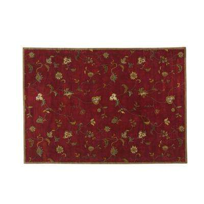 Lenore Red 10 ft. x 14 ft. Area Rug