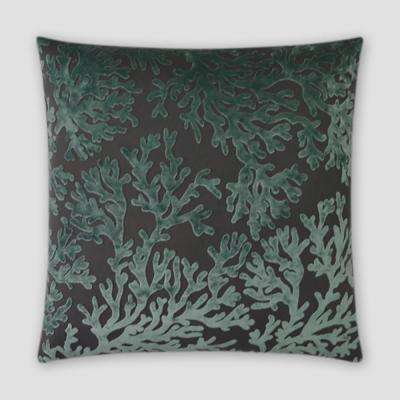 St. Tropez Laguna Feather Down 20 in. x 20 in. Standard Decorative Throw Pillow