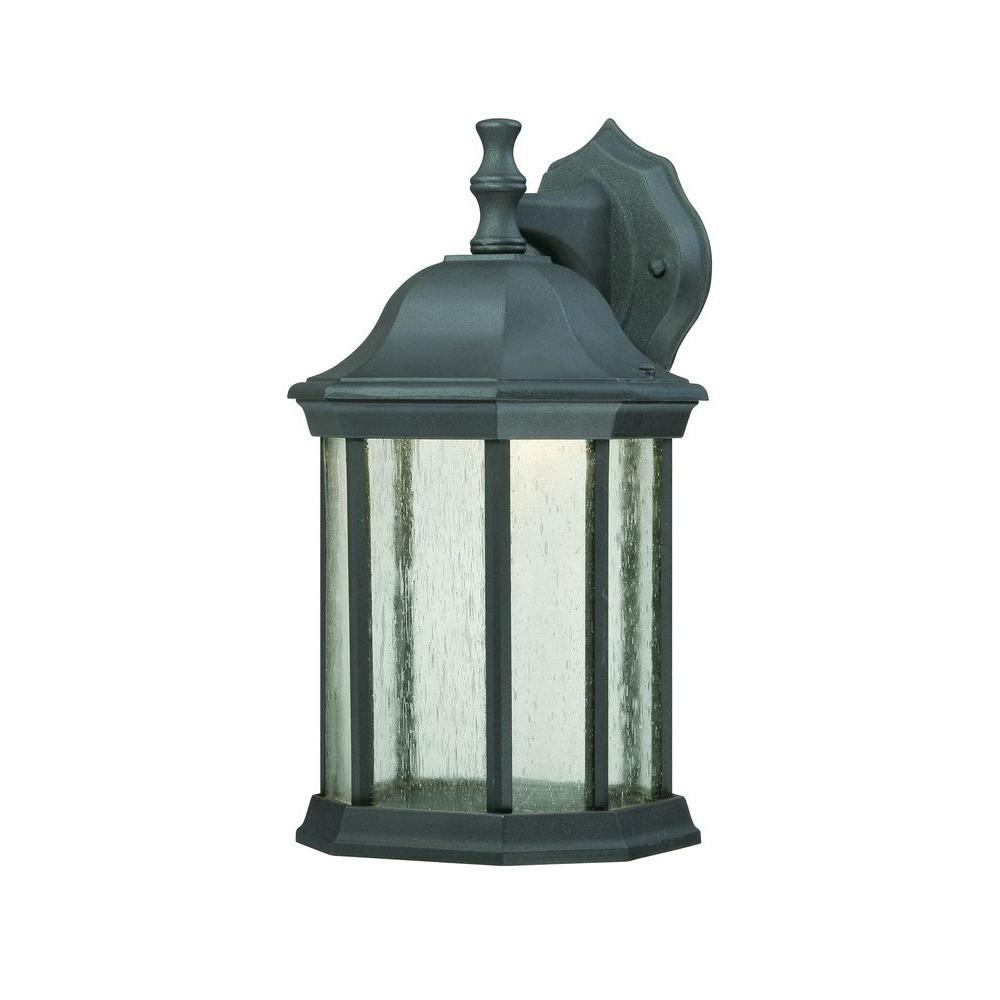 Thomas Lighting Hawthorne Wall-Mount 1-Light Outdoor Painted Bronze LED Lantern-DISCONTINUED