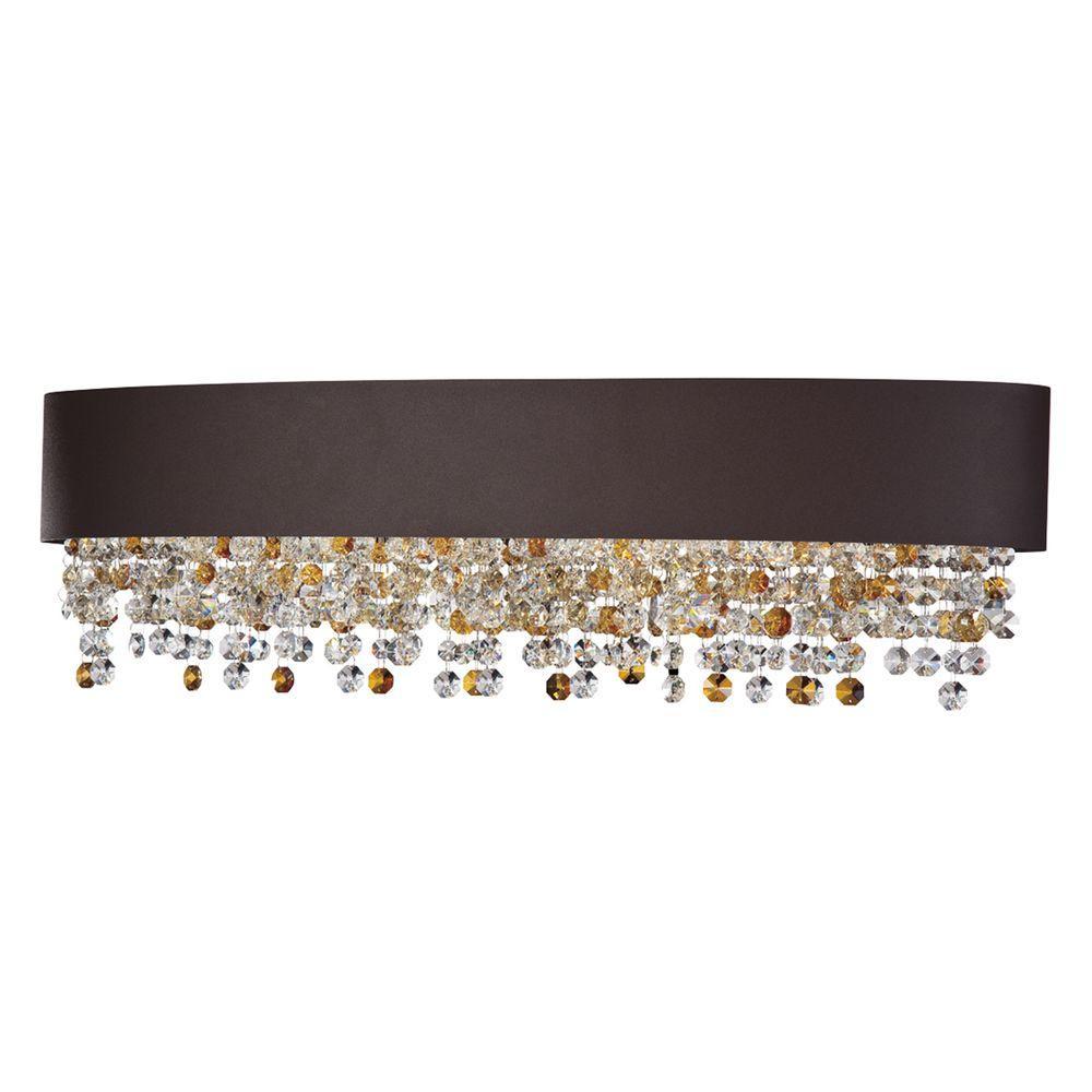 Romanelli Collection 6-Light Bronze Bath Bar Light