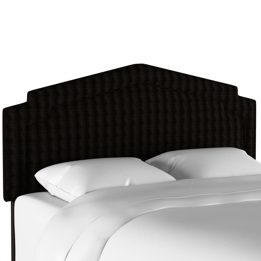 Skyline Furniture Pendleton Sawtooth Midnight Twin Notched Headboard
