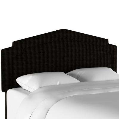 Pendleton Sawtooth Midnight King Notched Headboard