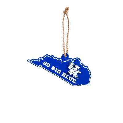University of Kentucky 5 in. NCAA Team State Christmas Ornament
