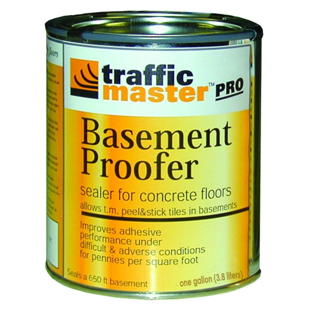 TrafficMASTER 1-gal. Basement Proofer Sealer for Concrete Flooring