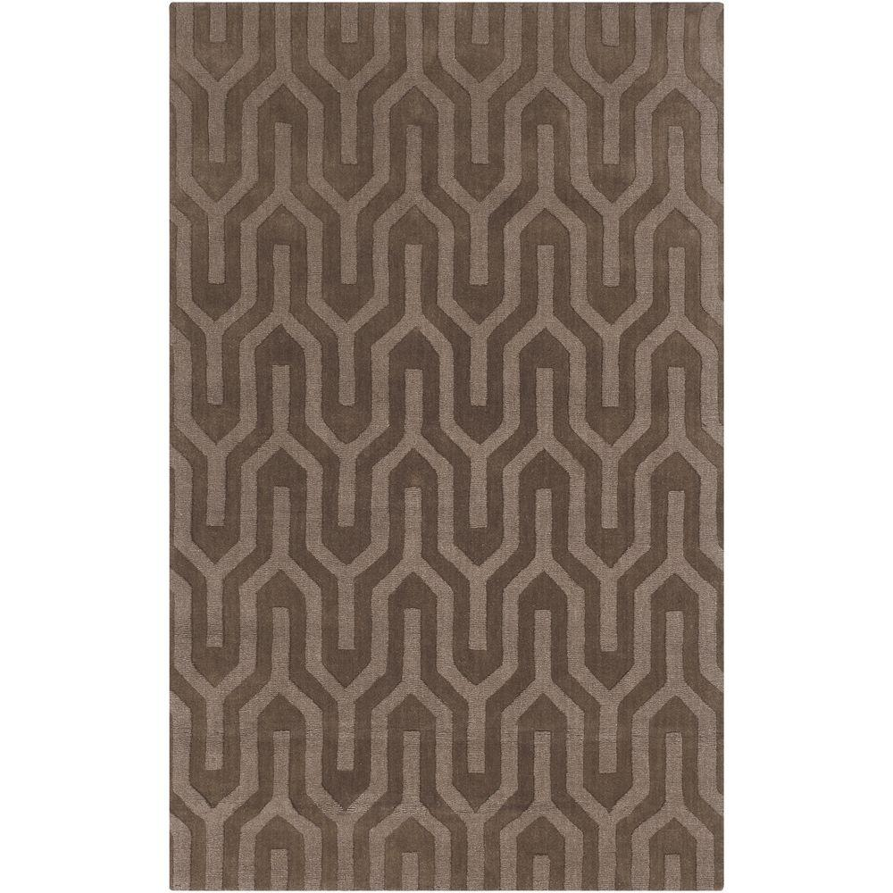 Harmonia Chocolate 5 ft. x 8 ft. Indoor Area Rug