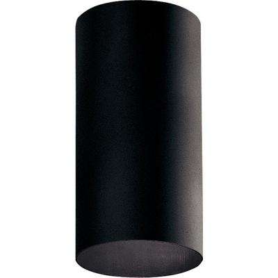 Black Outdoor Flushmount