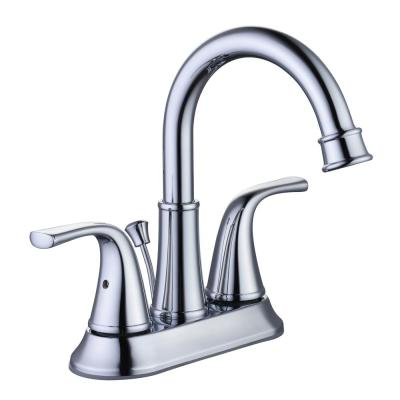 Bettine 4 in. Centerset 2-Handle High-Arc Bathroom Faucet in Chrome