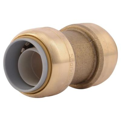 3/4 in. Push-to-Connect Brass Polybutylene Conversion Coupling Fitting