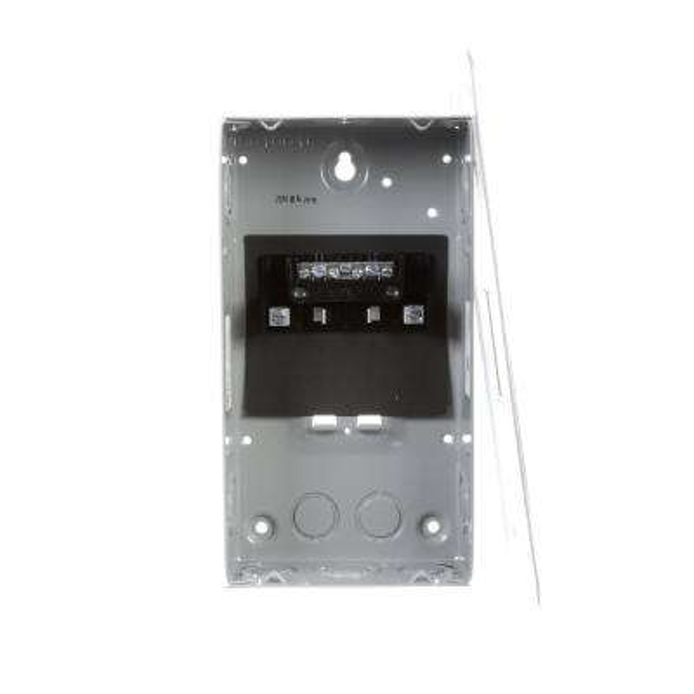 EQ 60 Amp 2-Space 4-Circuit Main Lug Flush Mount Load Center