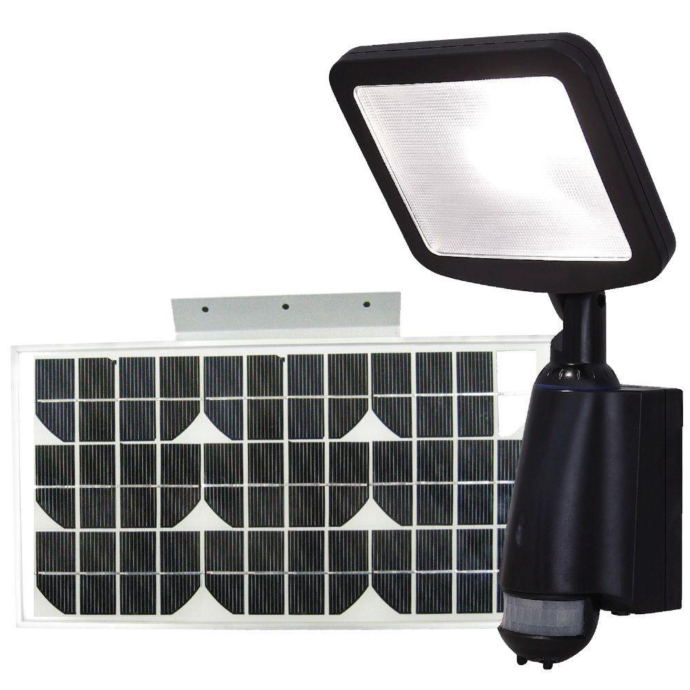 eLEDing 180-Degree Outdoor White Motion Activity LED Solar Light/Indoor/Security/Flood/Spot Light