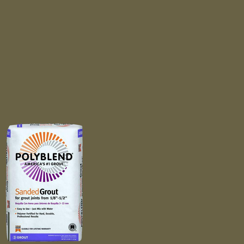 Custom Building Products Polyblend #59 Saddle Brown 25 lb. Sanded Grout