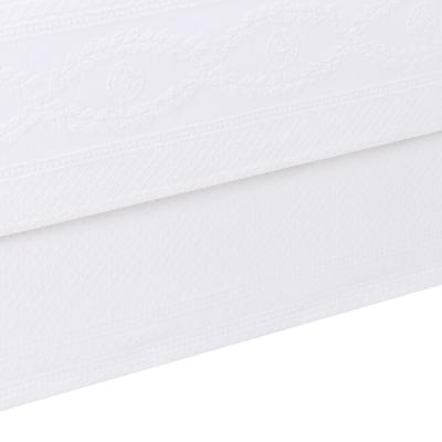 Williamsburg Abby White Solid Queen Bed Skirt