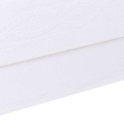 Williamsburg Abby White King Bed Skirt