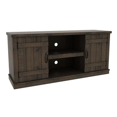Homestead 58 in. Natural Media Console