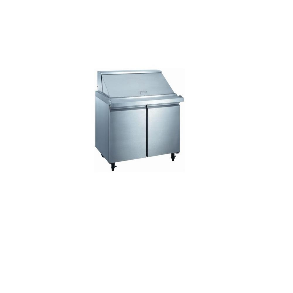 EQ Kitchen Line Cu Ft Xx In Door Commercial Food - 10 ft stainless steel table
