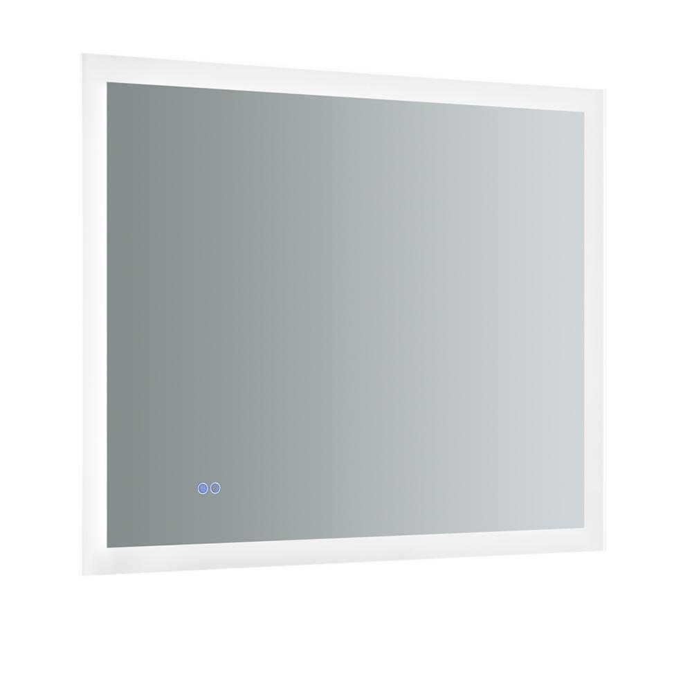 Angelo 36 in. W x 30 in. H Frameless Rectangular LED Light Bathroom Vanity Mirror