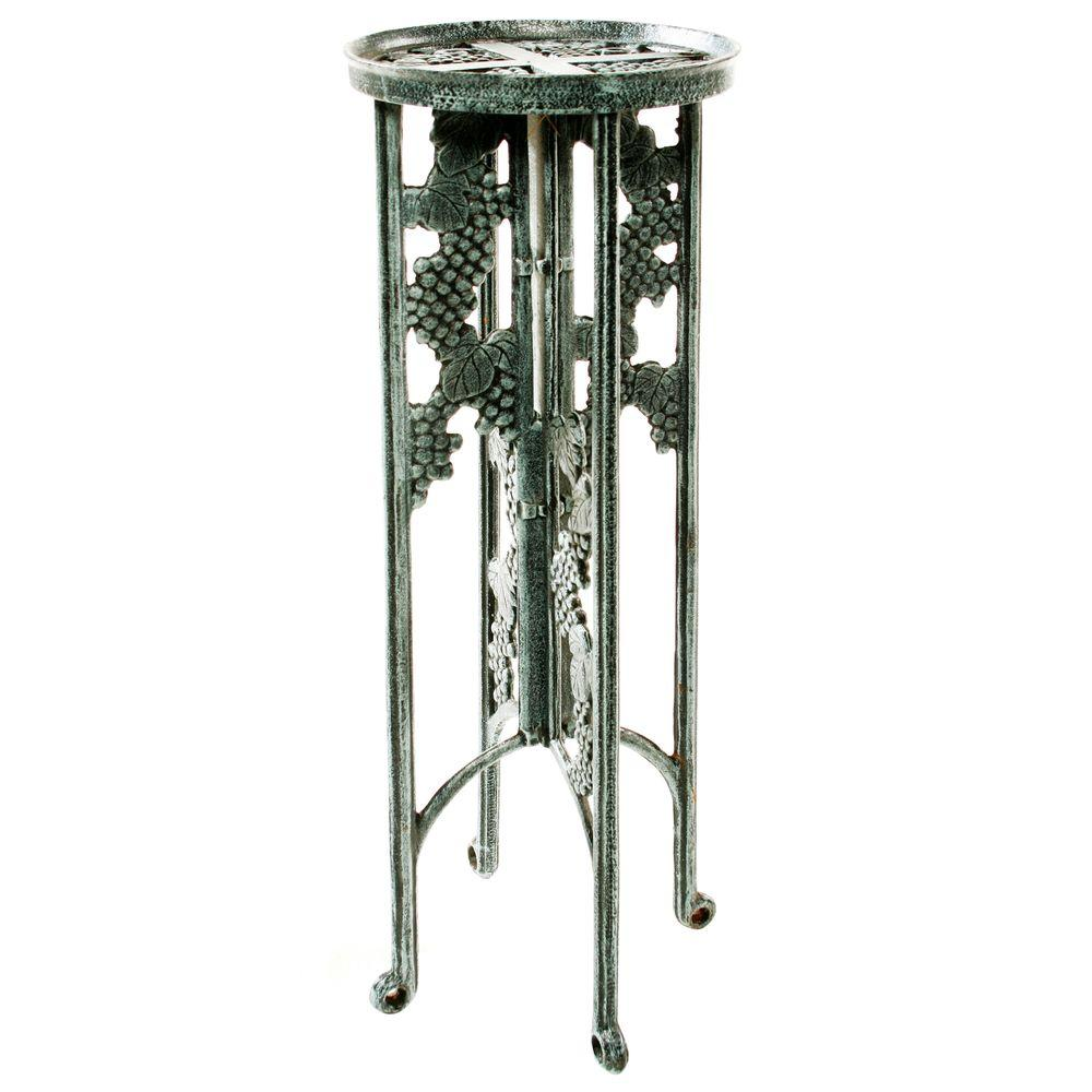 Oakland 31 in. Metal Grape Interlocking Plant Stand