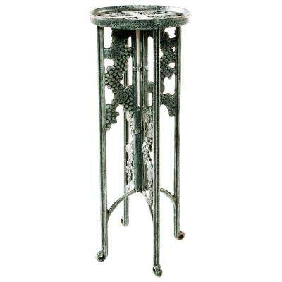 31 in. Metal Grape Interlocking Plant Stand